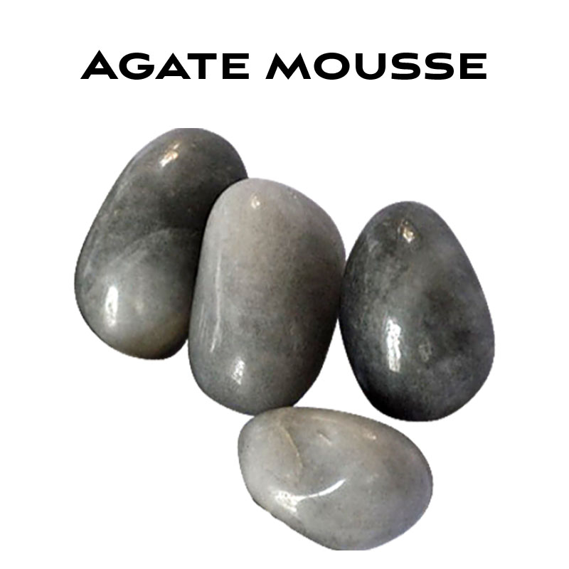 Agate mousse